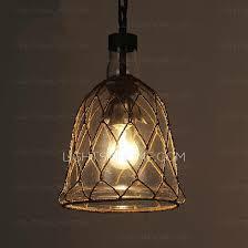 designer loft blown glass mini pendant lights for kitchen
