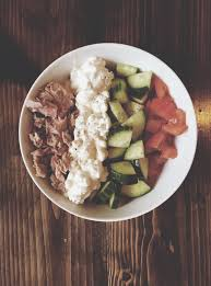 Protein Packed Lunch Bowl Tuna and Cottage Cheese – life Love