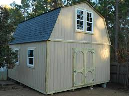 10x20 Storage Shed Plans Free by Two Level Storage Shed Blue Carrot Com