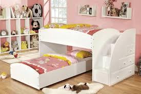 tween loft bedroom ideas l shaped white finish solid wood desk