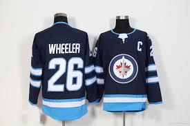 2019 26 Blake Wheeler Jersey 2017 2018 Season Winnipeg Jets Hockey Jerseys  All Stitched New Jersey From Felixtrading, $20.32 | DHgate.Com