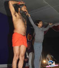 Shilpa Shetty At Baba Ramdev Yoga Session