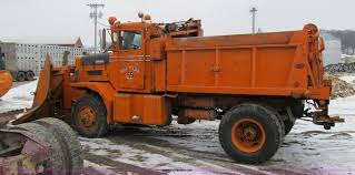 100 Plow Trucks For Sale 1966 Oshkosh M 4827G Snow Plowspreader Truck Item 4040