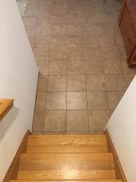 Snapstone Tile Home Depot by Snapstone Walnut 6 In X 24 In Porcelain Floor Tile 5 Sq Ft