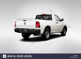 2009 Dodge Ram 1500 ST In White - Rear Angle View Stock Photo ...