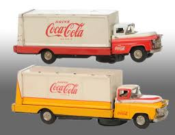 Lot Of 2: Coca-Cola Battery-Operated Truck Toys. Rare Vintage 1950s 50 Buddy L Cocacola Coke Delivery Truck Baby Piano And Vintage Buddy Dump Truck Cacola Pressed Steel Delivery Model By Cacola Trucks Trailers 1979 Set In Box Trucks For Sale Pictures Coca Cola Gmc 550 Cab Circa 1960 Coca Cola Wbox Mack Collectors Weekly Japan Complete Whats It Worth 43 Paper Plates Cups With Lids Images Toy