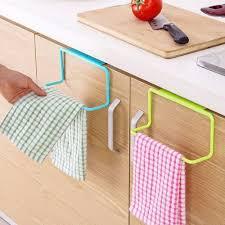 großhandel schranktür handtuchhalter für bad küche qualitäts handtuchhalter hanging halter organisator badezimmerschrank schrank aufhänger