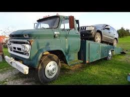 1965 Chevrolet C60 2 ton classic car hauler 60s wrecker Texas