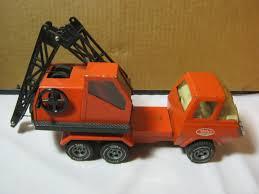 Tonka Vintage Toy Crane Truck Pressed Steel