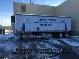 100 Truck And Trailer Supply TemporaryEmergency Potable Water Dalton Water Company