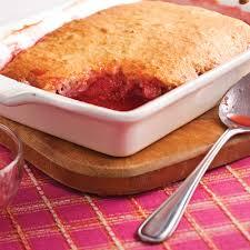 pouding aux fraises et rhubarbe recettes cuisine et nutrition