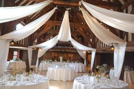 A Wedding Planners Styling And Decor Planner Weddingroofdrapelinings Drapes Tithe Barn Great Fosters Draping