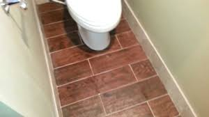 floor is tiled with gun stock purchased at home depot youtube