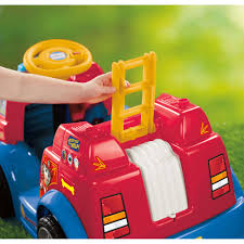 Power Wheels PAW Patrol Fire Truck - Walmart.com Little People Lift N Lower Fire Truck Shop Toddler Power Wheels Paw Patrol Battery Ride On 6 Volt Fisher Price Music Parade On Vehicle Craigslist Fire Truck Best Discount Fisher Price Lil Rideon Amazoncouk Toys Games Firetruck Engine Moving 12 Rideon For Toddlers And Preschoolers Fireman Sam Driving The Mattel 2007 Youtube Powered Ride In Dunfermline Fife Gumtree
