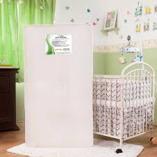 L A BABY Pure Natural 2 in 1 Crib Mattress
