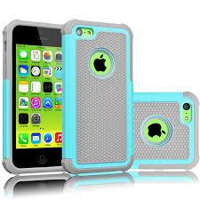 Amazon iPhone 5C Case Tekcoo TM Tmajor Series Turquoise