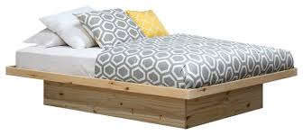 Queen Size Platform Bed Contemporary Bed Frames by Gothic