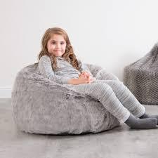Image Of Fur Bean Bag Kids