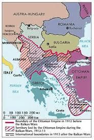 Where Did The Lusitania Sink Map by Balkan Wars European History Britannica Com