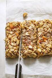 Pumpkin Flaxseed Granola Nutrition Info by No Bake Chewy Granola Bars With Almonds Flax Seeds And Chia Seeds