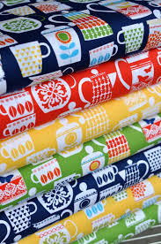 Millers Ready Made Curtains by Retro Kitchen Fabrics By Michael Miller Fabric Love Pinterest