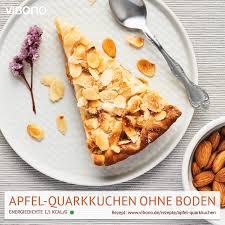 apfel quarkkuchen ohne boden vibono
