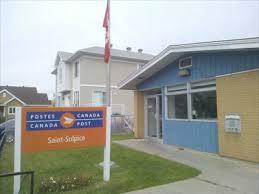 bureau de post bureau de poste de st sulpice sulpice post office j5w 1b0