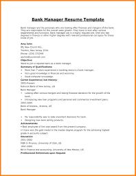 How To Make Cv For Bank Job Fresher Resume Sample