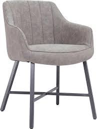 salesfever esszimmerstuhl armlehnstuhl im 2er set schalenstuhl im vintage look kaufen otto