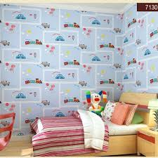Bedroom Wallpaper For Kids Eco Friendly Lovely Cartoon Cars Wallpapers Roll Room Decoration Wall Paper Non Woven Boys