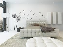 dekorieren in schwarz und weiß ideen mit wandtattoos