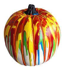 Cohn Glass Blown Pumpkins by An Artist U0027s Pumpkin Jackson Pollock Pumpkin Ideas And Foam Pumpkins
