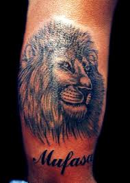 3d Hd Model Great Lion Tattoos For Men