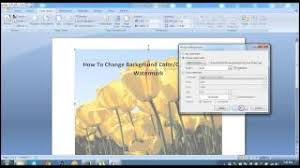 Print Background Color In Microsoft Word