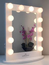 Vanity Table With Lights Around Mirror by Importance Of Vanity Mirrors With Lights Light Decorating Ideas
