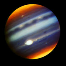 A Composite Infrared Image Of Jupiter In Wavelengths Between 169 And 2275 Microns