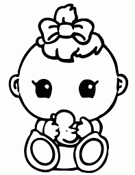 Top Coloring Baby Printable Pages With Free Shower Az
