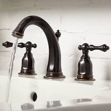 Menards Kohler Bathroom Faucets by Shining Bronze Bathroom Sink Faucet Faucets The Home Depot At