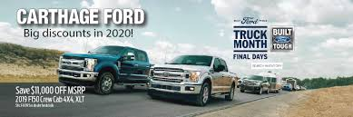 100 Edmunds Used Trucks Carthage Ford Inc Ford Dealership In Carthage MO