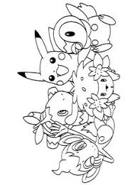 Free Pokemon Coloring Page Pages 54 Printable
