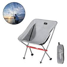 NiceEshop Lightweight Folding Camping Chair Portable Backpack Chair With  Carrying Bag For Outdoor, Beach, Picnic,