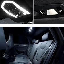 15Pcs Car LED Interior Lights Lamp Package Kit For Audi A4 B8 Avant ...