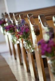 DIY Church Wedding Decorations Image Source