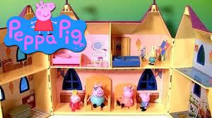 toys la maison de peppa pig deluxe playhouse pour les enfants