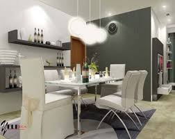 Contemporary Dining Room Ideas With Bright Lighting Solution