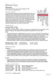 Sample Resume For Business Manager Time Management Skills Beautiful