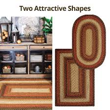 Homespice Decor Jute Rugs by Buy Beige Jute Braided Russet Area Rugs Online In Usa