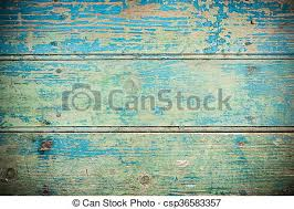 Old Vintage Blue Wooden Texture Background Close Up
