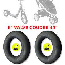 chambre à air poussette 2x chambre a air 8 x 1 1 4 poussette trottinette vélo enfant valve