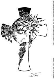 Cross And Jesus Tattoo